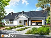 projekt - Dom w nerinach 2 (G2) [ 98,81 m2 ]