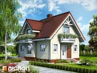 projekt - Dom w antonówkach ver.2 [ 87,42 m2 ]