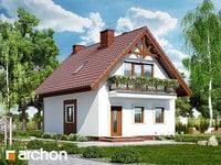 projekt - Dom w sasankach [ 79,89 m2 ]