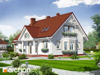projekt - Dom w magnoliach 2 [ 143,70 m2 ]