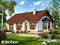 projekt - Dom w jagodach 2 [ 60,99 m2 ]