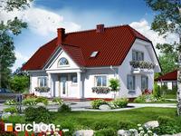 projekt - Dom w gladiolach 2 [ 164,50 m2 ]