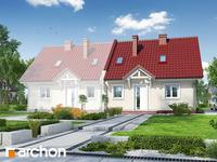 projekt - Dom w poziomkach 2 [ 85,30 m2 ]