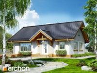 projekt - Dom w arnice [ 77,98 m2 ]