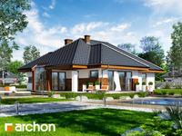 projekt - Dom w pigwowcach 2 [ 102,26 m2 ]