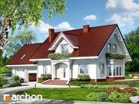 projekt - Dom w werbenach 2 (G2) [ 124,16 m2 ]