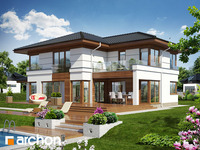 projekt - Willa Weronika 3 ver.2 [ 230,84 m2 ]