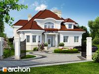 projekt - Rezydencja w Myślenicach 2 [ 266,20 m2 ]