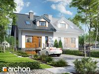 projekt - Dom w cyklamenach 4 (PB) [ 84,70 m2 ]