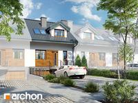 projekt - Dom w cyklamenach 4 (PS) [ 84,70 m2 ]