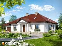 projekt - Dom w gaurach (PD) [ 175,70 m2 ]