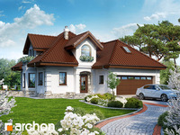 projekt - Dom w rukoli (G2) [ 110,00 m2 ]