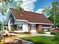 projekt - Dom w żurawkach (G2) [ 112,71 m2 ]