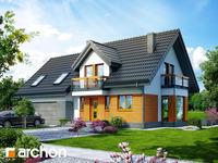projekt - Dom w tamaryszkach 4 (G2N) [ 120,30 m2 ]
