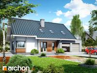 projekt - Dom w złoci (G2) [ 120,51 m2 ]