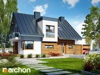 projekt - Dom w amarylisach 3 (G2) [ 111,51 m2 ]