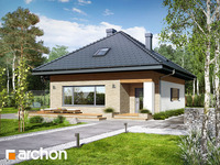 projekt - Dom w lilakach 3 [ 77,87 m2 ]