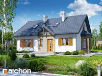projekt - Dom w jeżynach 4 [ 77,20 m2 ]