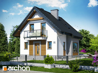 projekt - Dom w winogronach (PN) ver.2 [ 82,28 m2 ]