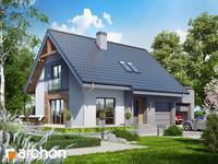 projekt - Dom w lucernie 4 (G2) [ 92,86 m2 ]