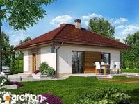 projekt - Dom w kuklikach ver.2 [ 48,51 m2 ]