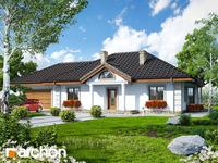 projekt - Dom pod jarząbem (G2) ver.2 [ 104,55 m2 ]
