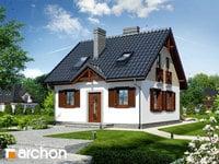projekt - Dom w borówkach ver.2 [ 61,87 m2 ]
