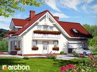 projekt - Dom w rododendronach 2 (G2) ver.2 [ 100,32 m2 ]