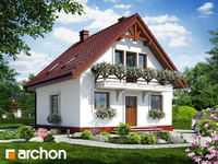 Lustrzane odbicie - Dom w rododendronach 11 ver.2
