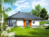 projekt - Dom w majówkach ver.2 [ 68,37 m2 ]