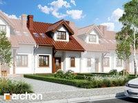 projekt - Dom w cyklamenach 2 (S) ver.2 [ 85,75 m2 ]