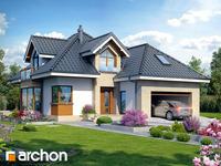 projekt - Dom w rukoli (G2N) ver.2 [ 122,27 m2 ]