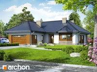 projekt - Dom w gardeniach ver.2 [ 103,00 m2 ]