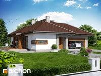 projekt - Dom w cyprysikach (G2) ver.2 [ 110,48 m2 ]