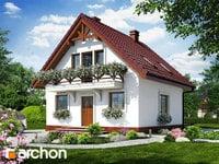 projekt - Dom w rododendronach 11 ver.2 [ 81,42 m2 ]