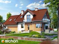 projekt - Dom w perłówce (G2N) ver.2 [ 107,82 m2 ]