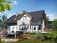 projekt - Dom pod liczi (G2) ver.2 [ 121,01 m2 ]