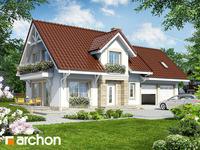 projekt - Dom w lantanach (G2) [ 105,56 m2 ]