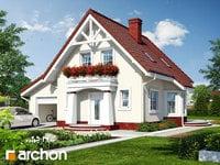 projekt - Dom w winogronach (G) ver.2 [ 74,97 m2 ]