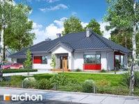 projekt - Dom w gaurach (G2N) [ 123,51 m2 ]