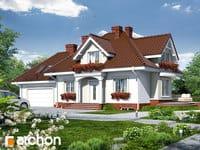 projekt - Dom w werbenach (G2P) ver.2 [ 114,01 m2 ]