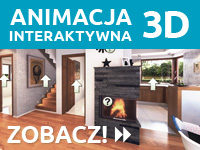 animacja interaktywna 3D Domu w żurawkach